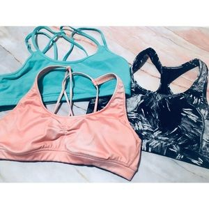 Other - Lot of 3 large sports bras (bundle deal)